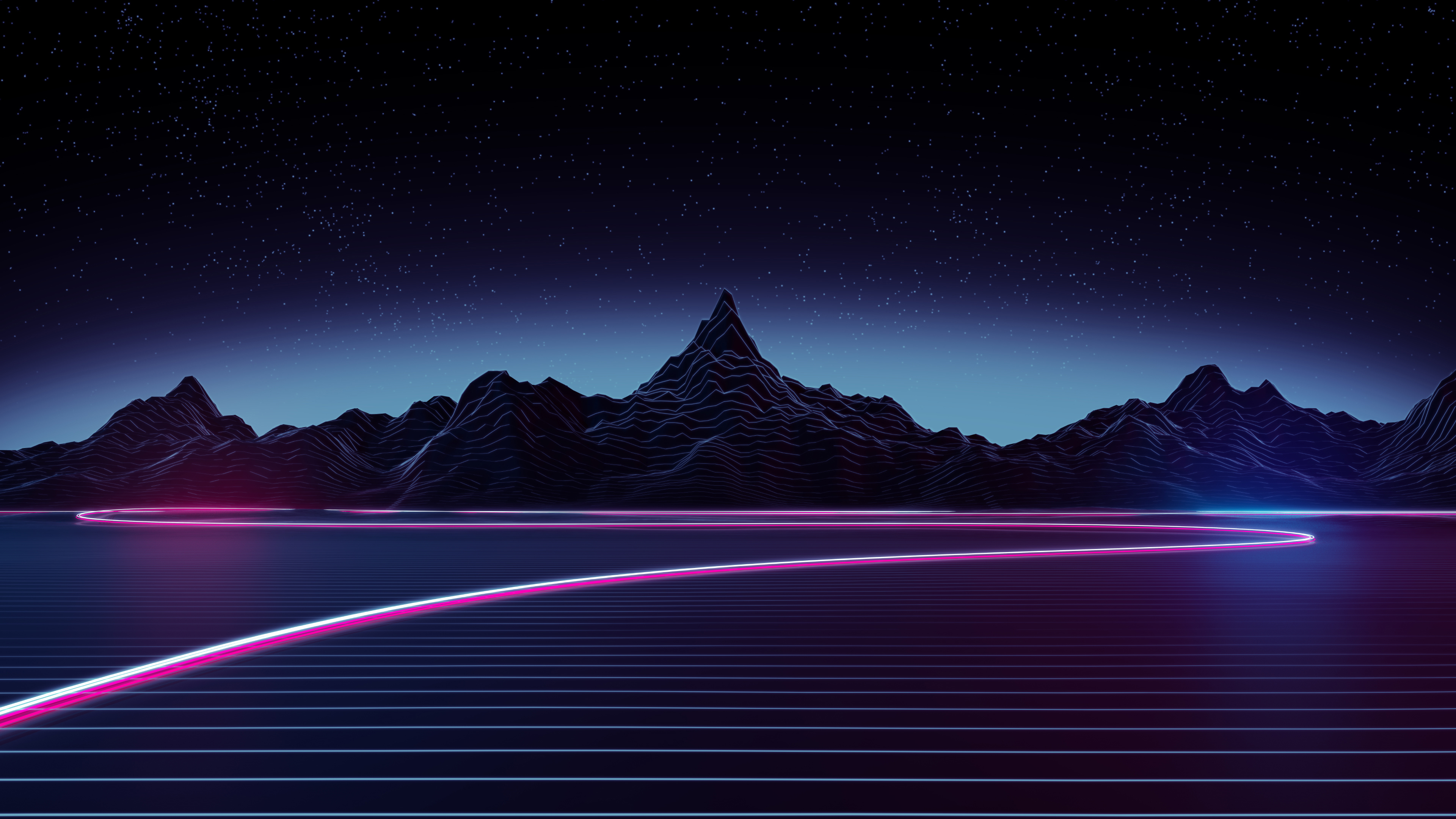 Retro Wave 4k Ultra HD Wallpaper | Background Image ...