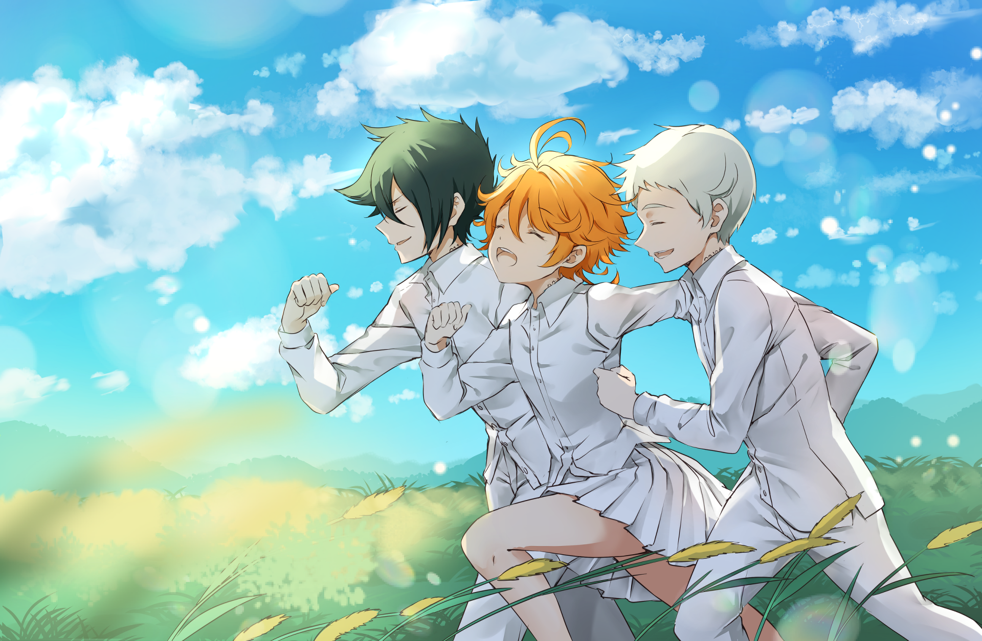 The Promised Neverland Hd Wallpaper Background Image 1920x1255