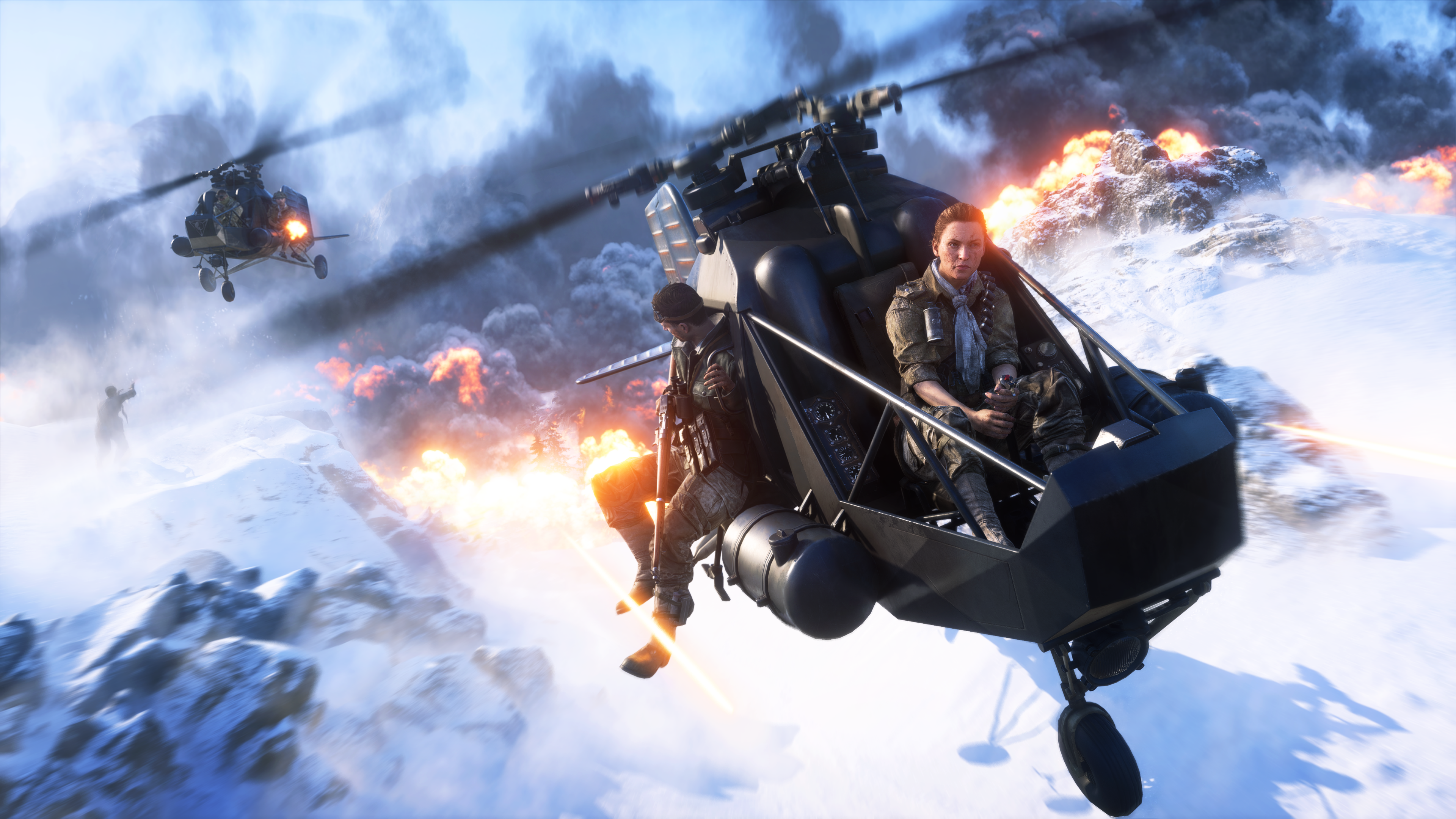 Battlefield V Firestorm 4k Ultra Fondo De Pantalla Hd