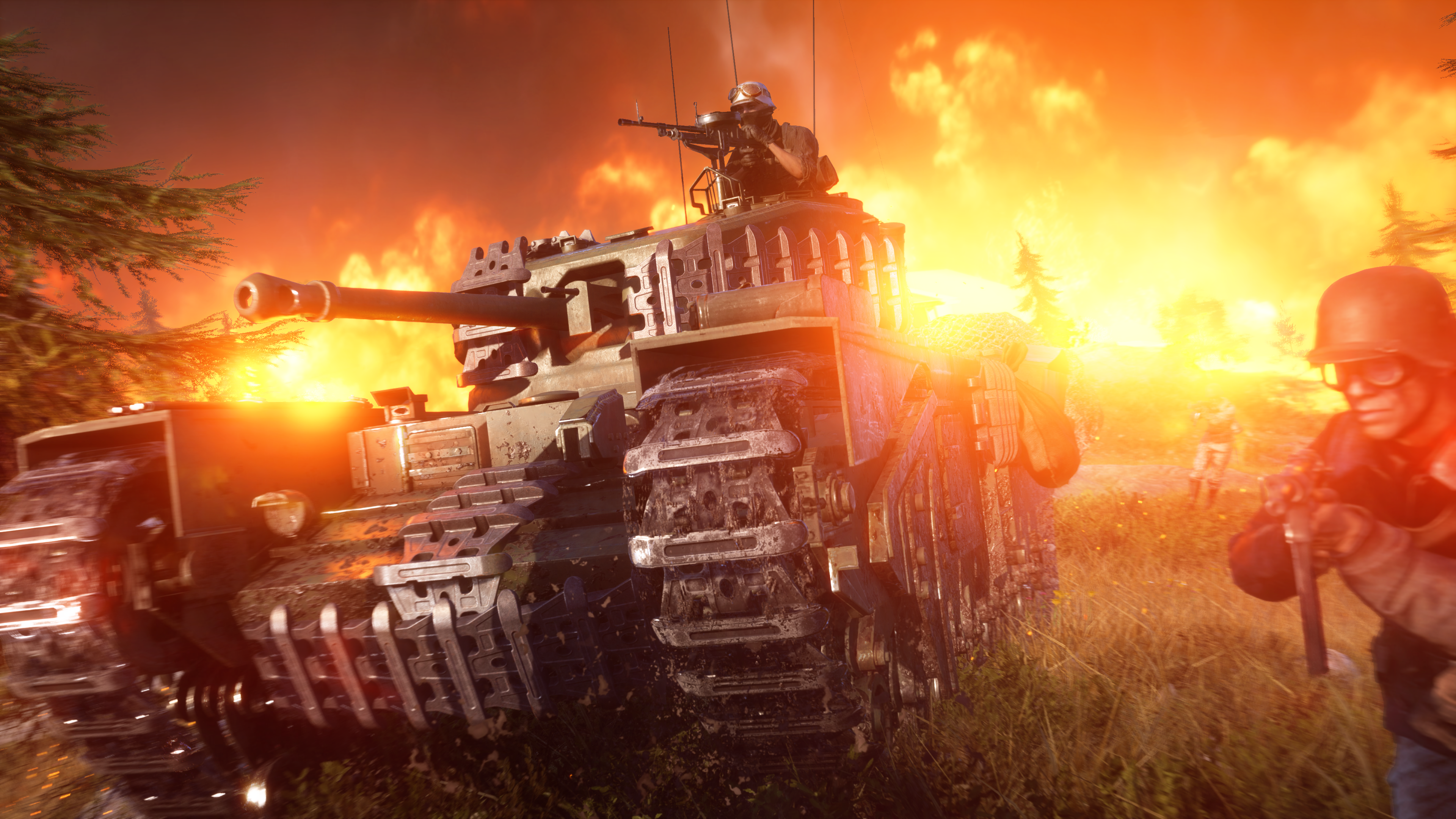 Battlefield V Firestorm 4k Ultra Hd Wallpaper Background