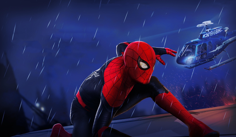 Spider-Man: Far From Home 5k Retina Ultra HD Wallpaper ...