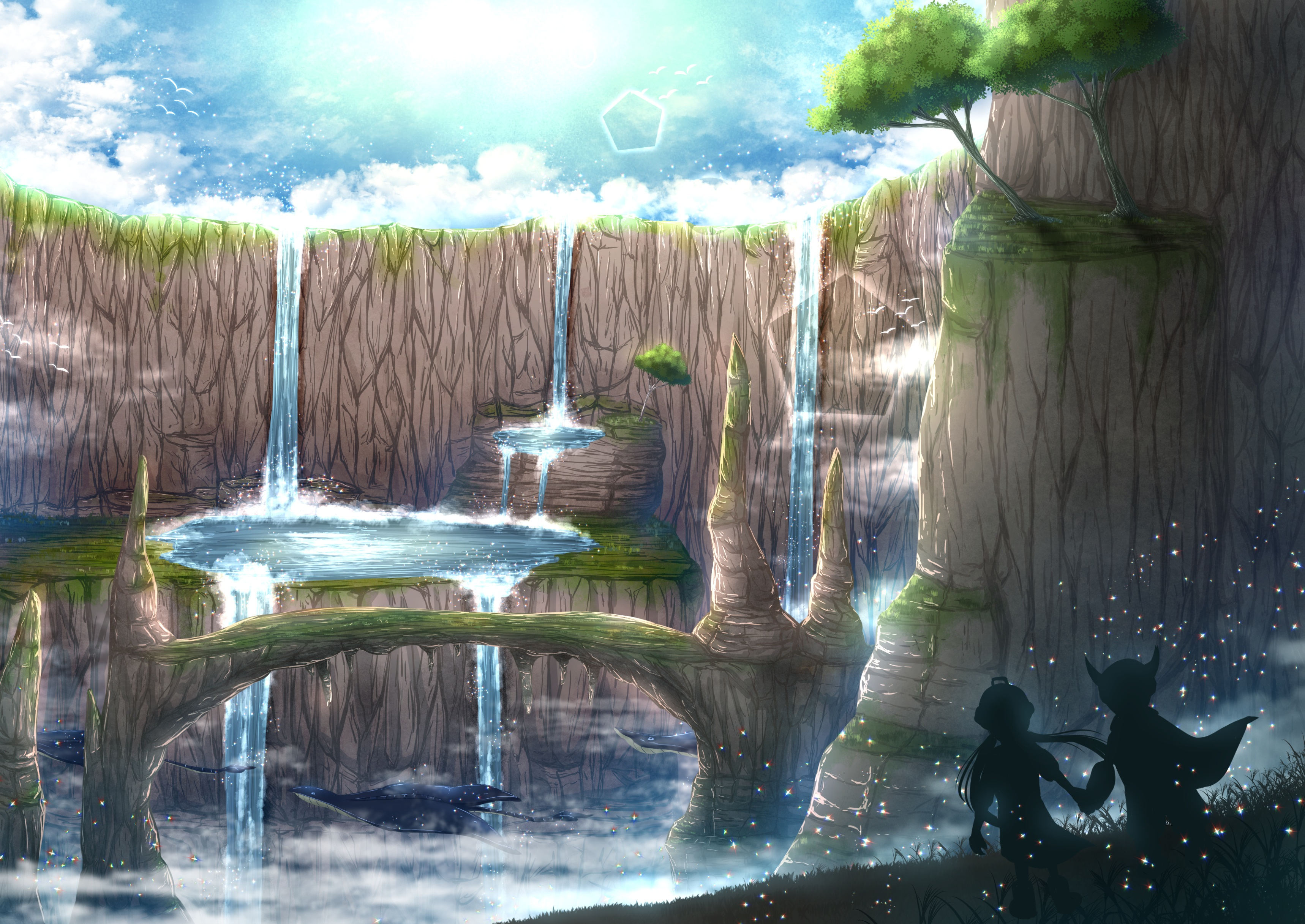 Made In Abyss HD Wallpaper   Background Image   3436x2434 ...