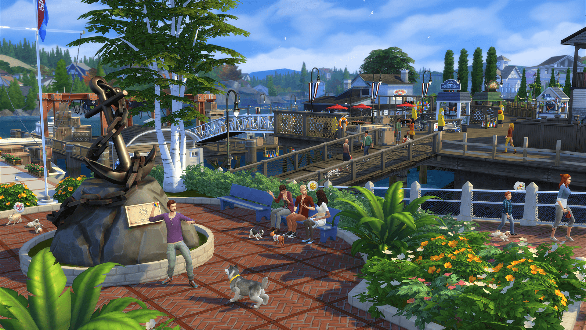10 The Sims 4 Hd Wallpapers Background Images Wallpaper Abyss