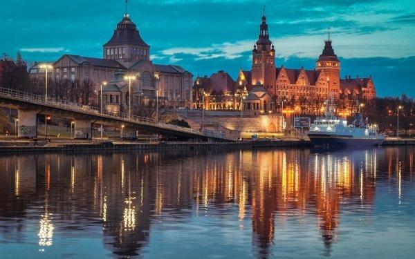 Man Made Architecture Szczecin Poland HD Wallpaper | Background Image