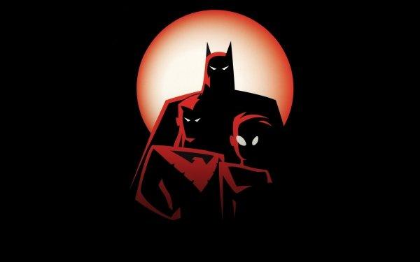 TV Show The New Batman Adventures Batman Robin Nightwing Tim Drake Dick Grayson HD Wallpaper   Background Image