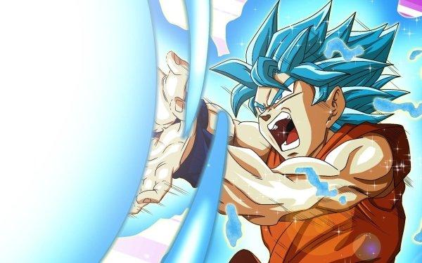 Anime Dragon Ball Super Dragon Ball Goku Super Saiyan Blue Kamehameha HD Wallpaper | Background Image