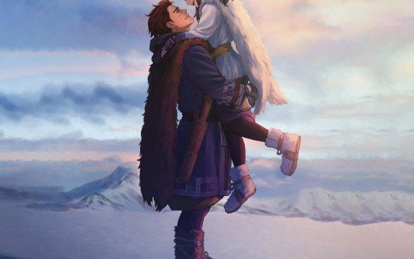 Anime Golden Kamuy Asirpa Sugimoto Saichi HD Wallpaper   Background Image