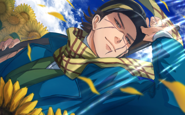 Anime Golden Kamuy Sugimoto Saichi HD Wallpaper   Background Image