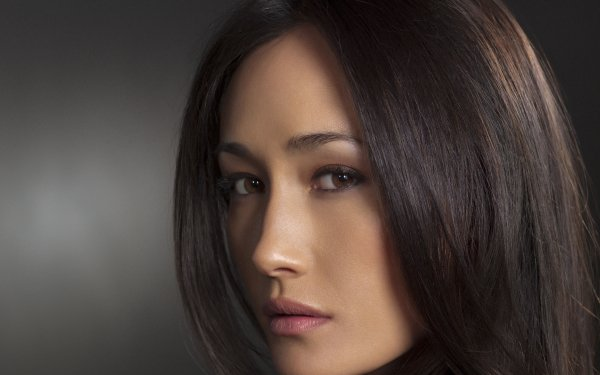 Celebrity Maggie Q Actresses United States Actress Face Brown Eyes Brunette HD Wallpaper | Background Image