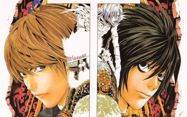 Anime Death Note Light Yagami L Rem HD Wallpaper | Background Image