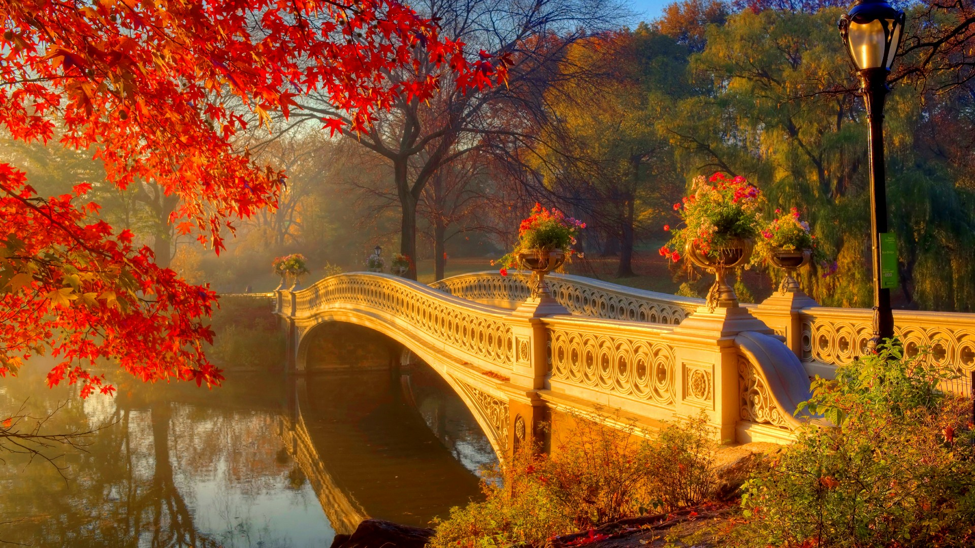 Central Park Wallpapers and Background Images - stmed.net  |Autumn Central Park Screensavers