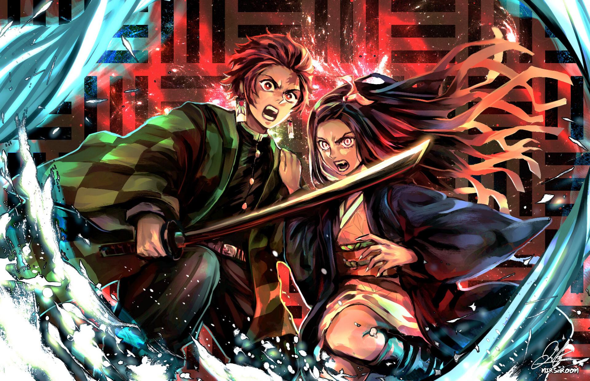 Demon Slayer Kimetsu No Yaiba Hd Wallpaper Hintergrund