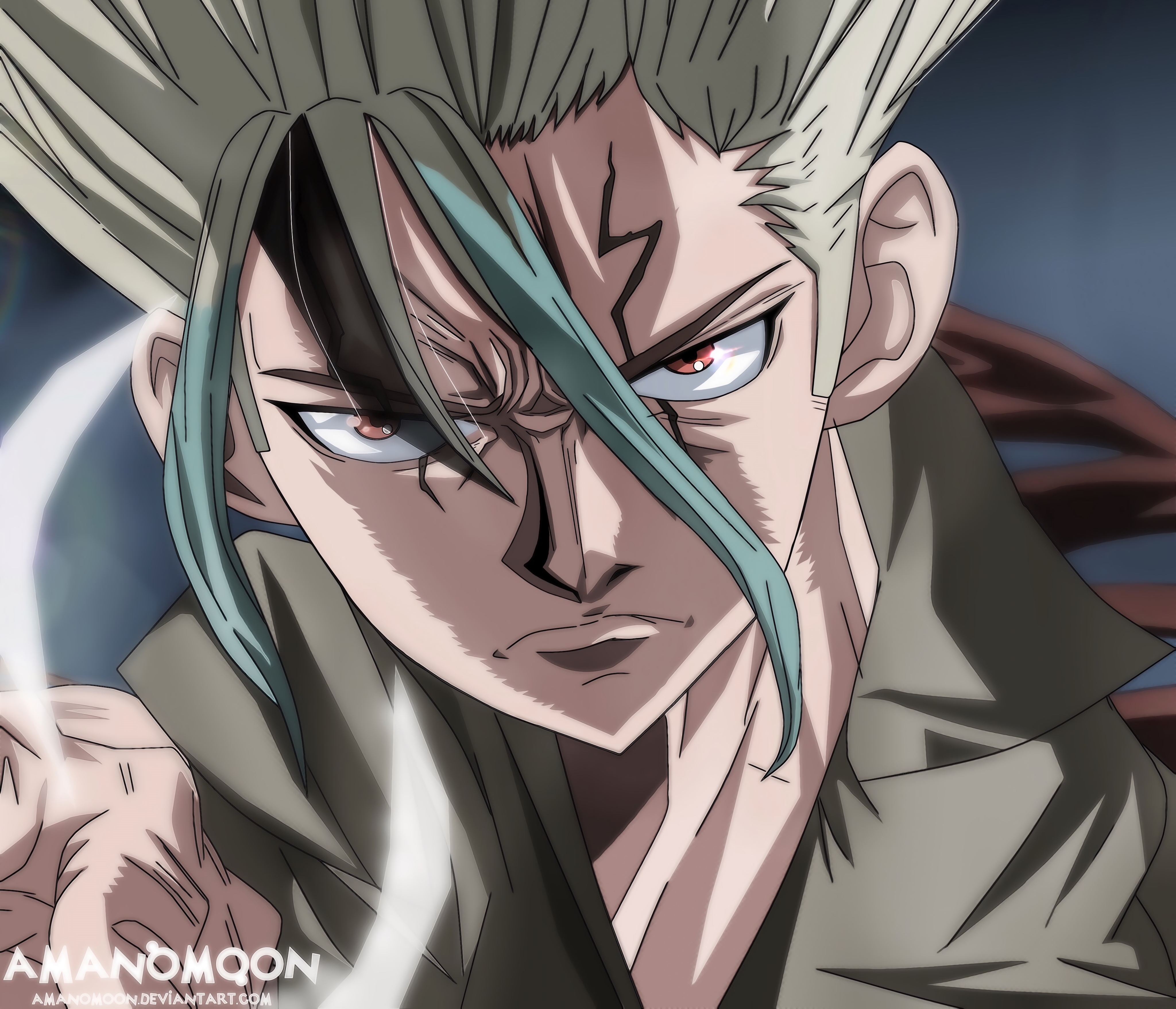Dr. Stone 4k Ultra HD Wallpaper | Background Image | 4096x3516 | ID:1015783 - Wallpaper Abyss