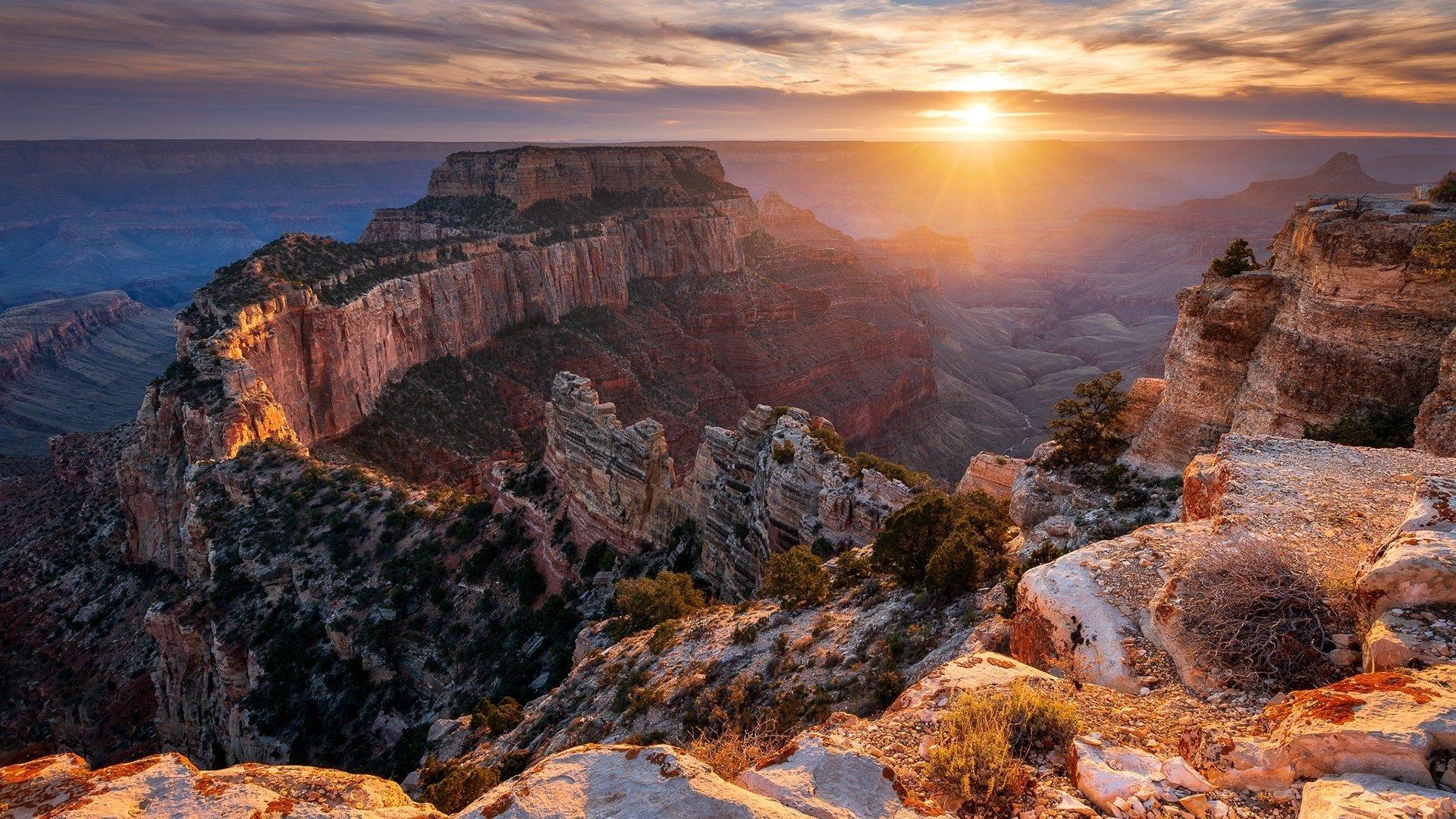 Grand Canyon HD Wallpaper | Background Image | 1920x1080 ...