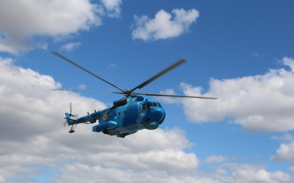 Military Mil Mi-14 Military Helicopters Ukrainian Navy Helicopter HD Wallpaper   Background Image