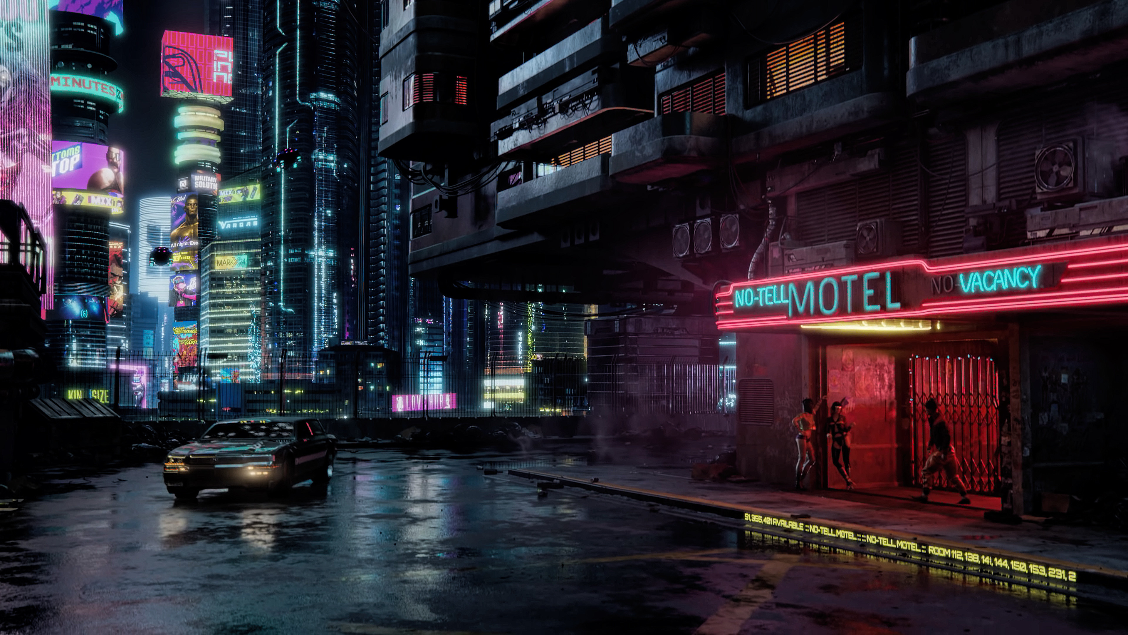 Cyberpunk 2077 4k Ultra Hd Wallpaper Background Image 3840x2160 Id 1022372 Wallpaper Abyss