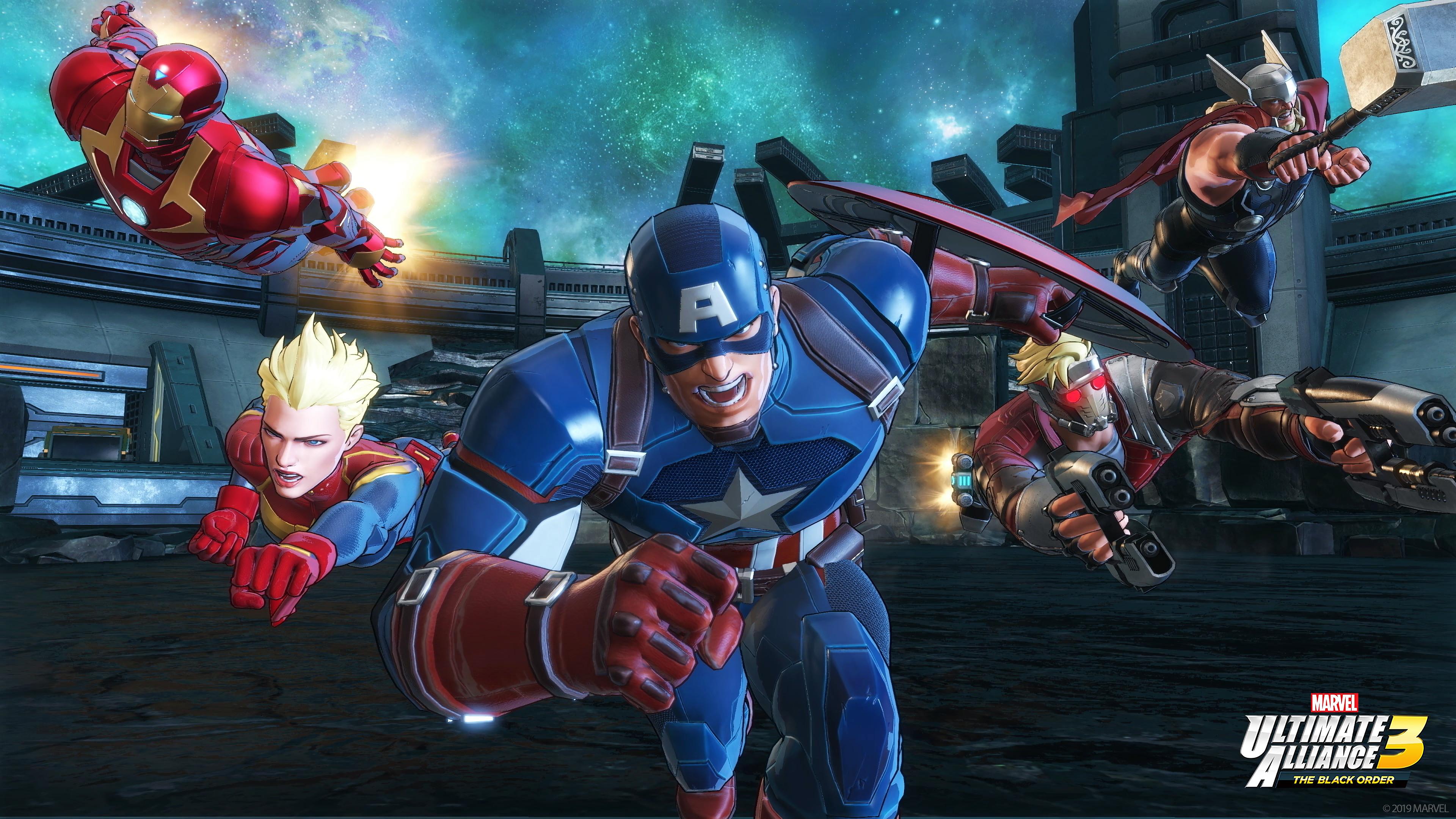 Marvel Ultimate Alliance 3 4k Ultra Hd Wallpaper Background