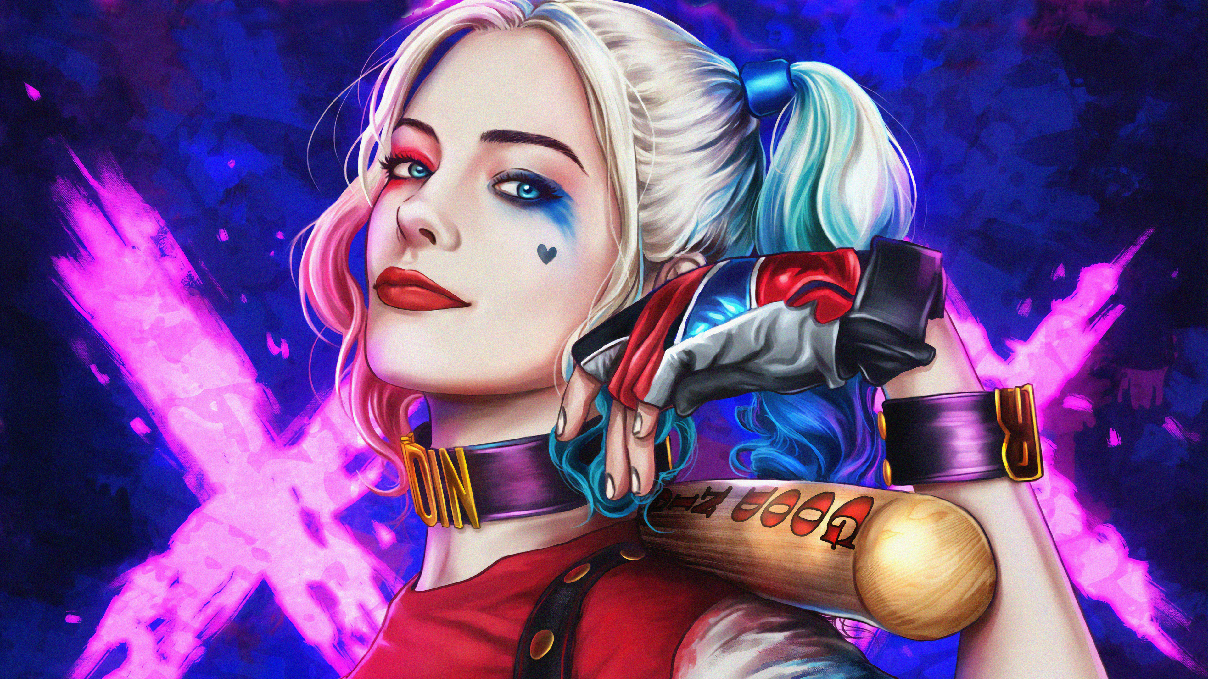 Harley Quinn 4k Ultra HD Wallpaper