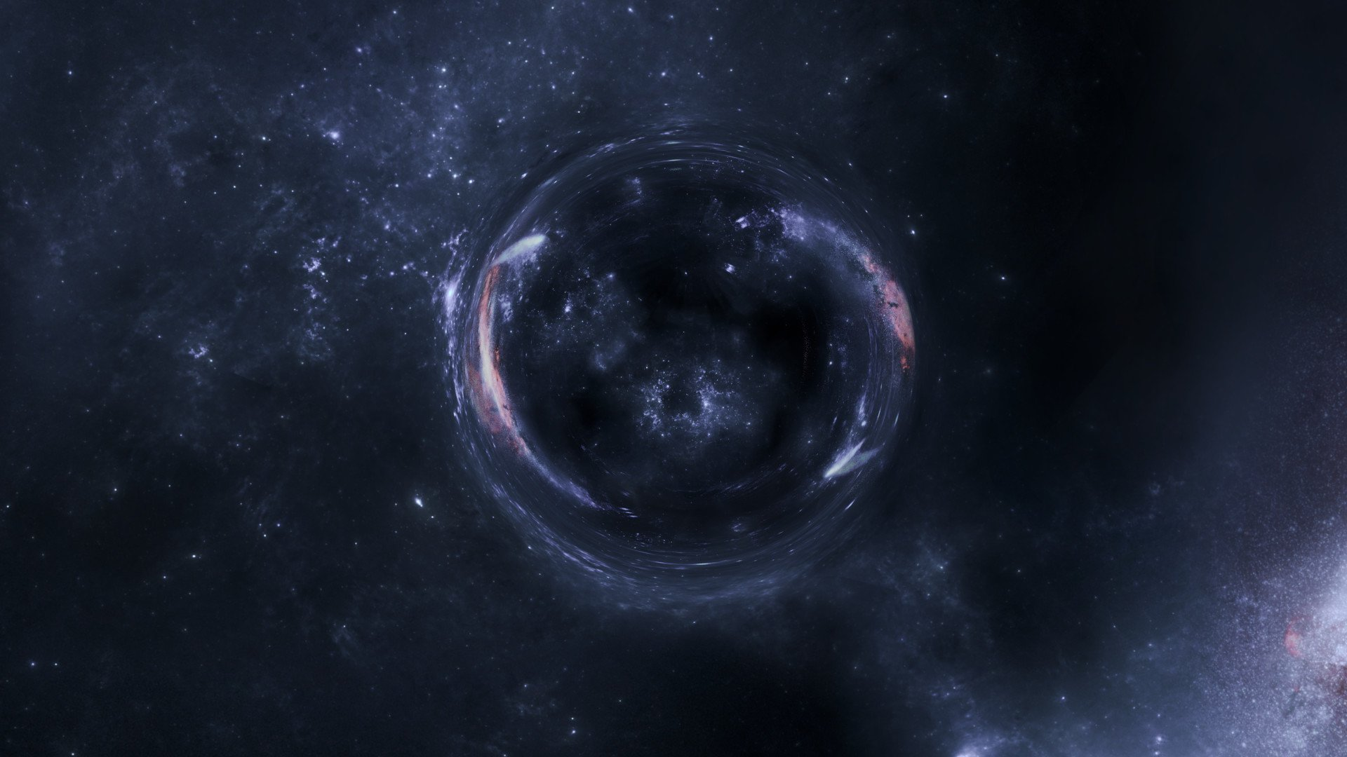 Interstellar wormhole HD Wallpaper