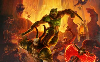 48 Doom Eternal Hd Wallpapers Background Images Wallpaper Abyss