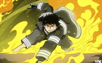 47 Fire Force Hd Wallpapers Background Images Wallpaper