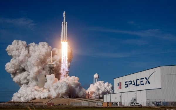 Technology SpaceX Rocket Falcon Heavy HD Wallpaper | Background Image
