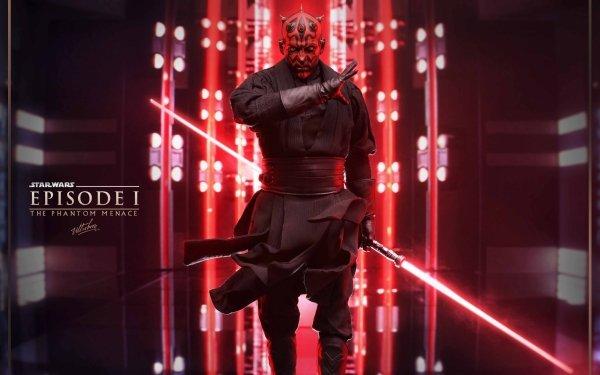 Movie Star Wars Episode I: The Phantom Menace Star Wars Darth Maul HD Wallpaper | Background Image