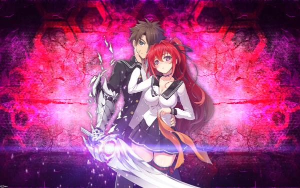Anime Shinmai Maou No Testament Mio Naruse Basara Toujou HD Wallpaper | Background Image