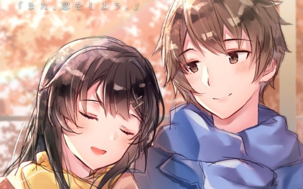 Anime Rascal Does Not Dream of Bunny Girl Senpai Sakuta Azusagawa Mai Sakurajima HD Wallpaper   Background Image