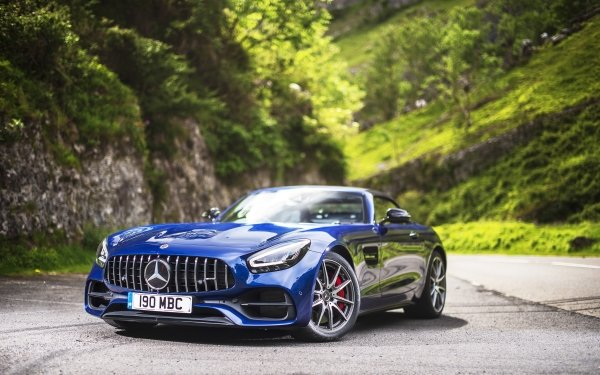 Vehicles Mercedes-Benz AMG GT Mercedes-Benz Mercedes-Benz AMG Car Blue Car Sport Car HD Wallpaper | Background Image