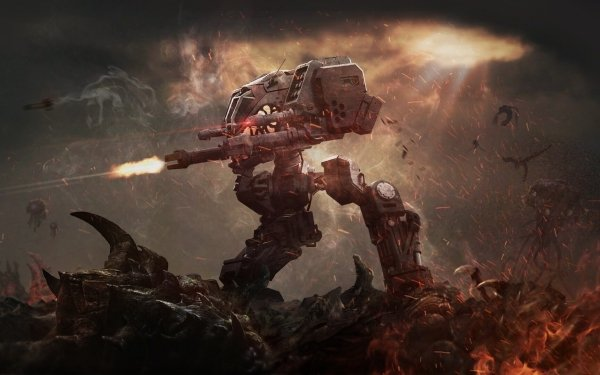 Video Game Starcraft Zerg Robot HD Wallpaper   Background Image