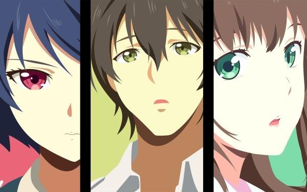 Anime Domestic Girlfriend Rui Tachibana Natsuo Fujii Hina Tachibana HD Wallpaper | Background Image