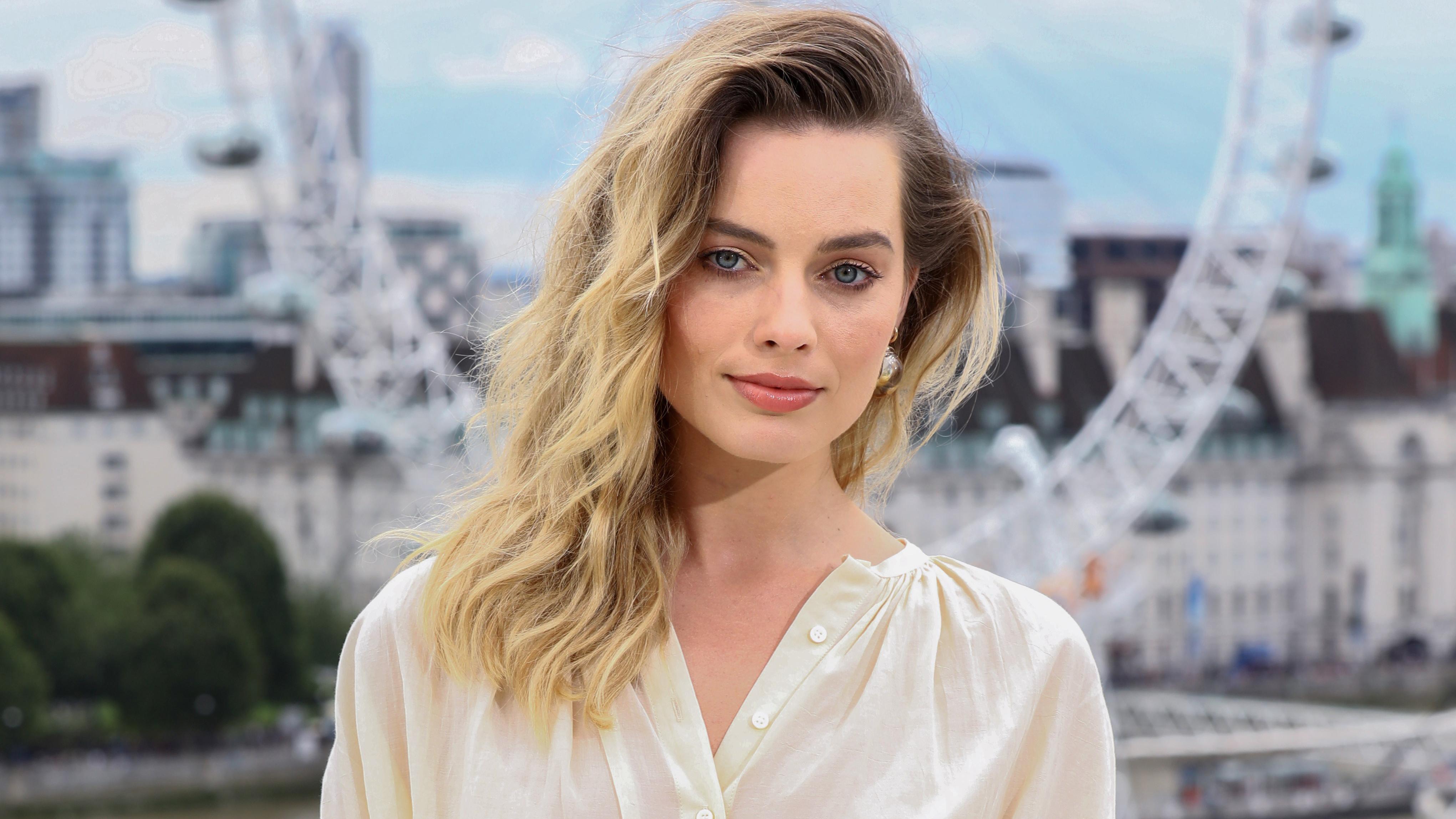 Margot Robbie 4k Ultra Fondo De Pantalla Hd Fondo De