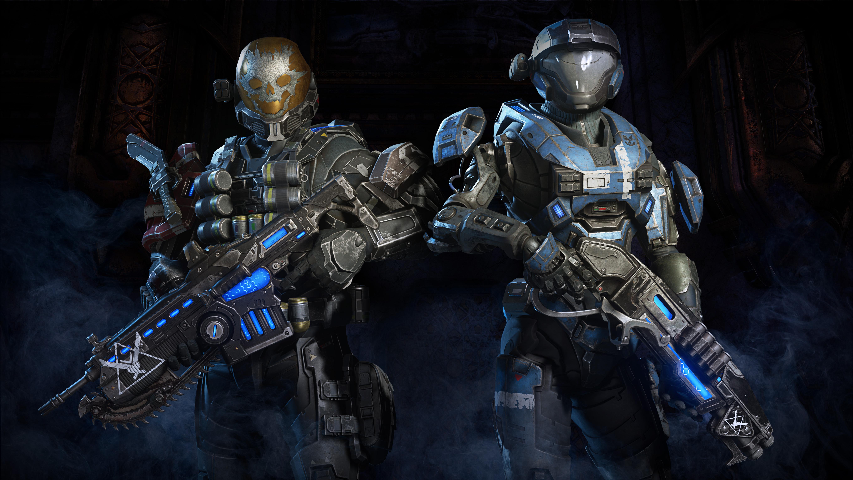 Gears Of War 5 X Halo Reach 5k Retina Ultra Hd Wallpaper