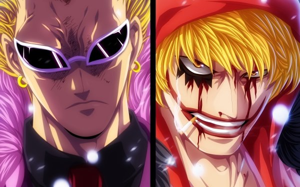 Anime One Piece Donquixote Corazon Donquixote Doflamingo Donquixote Rosinante HD Wallpaper | Background Image