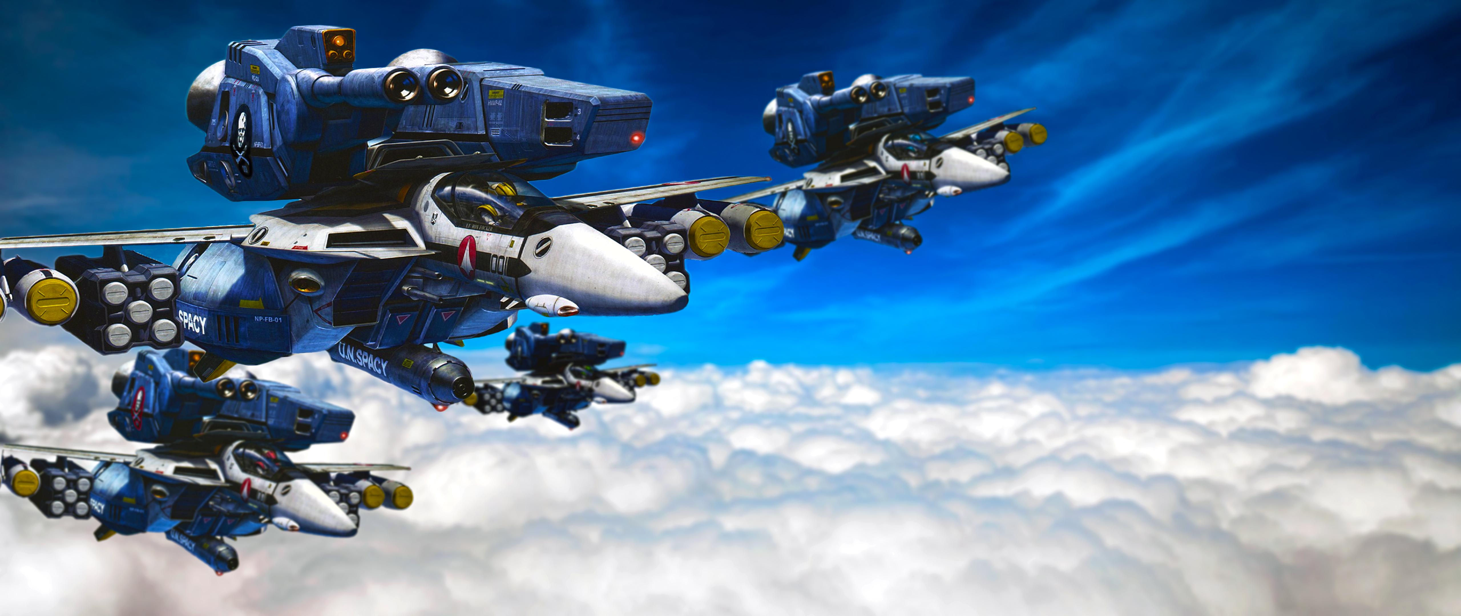 Robotech 4k Ultra HD Wallpaper | Background Image ...