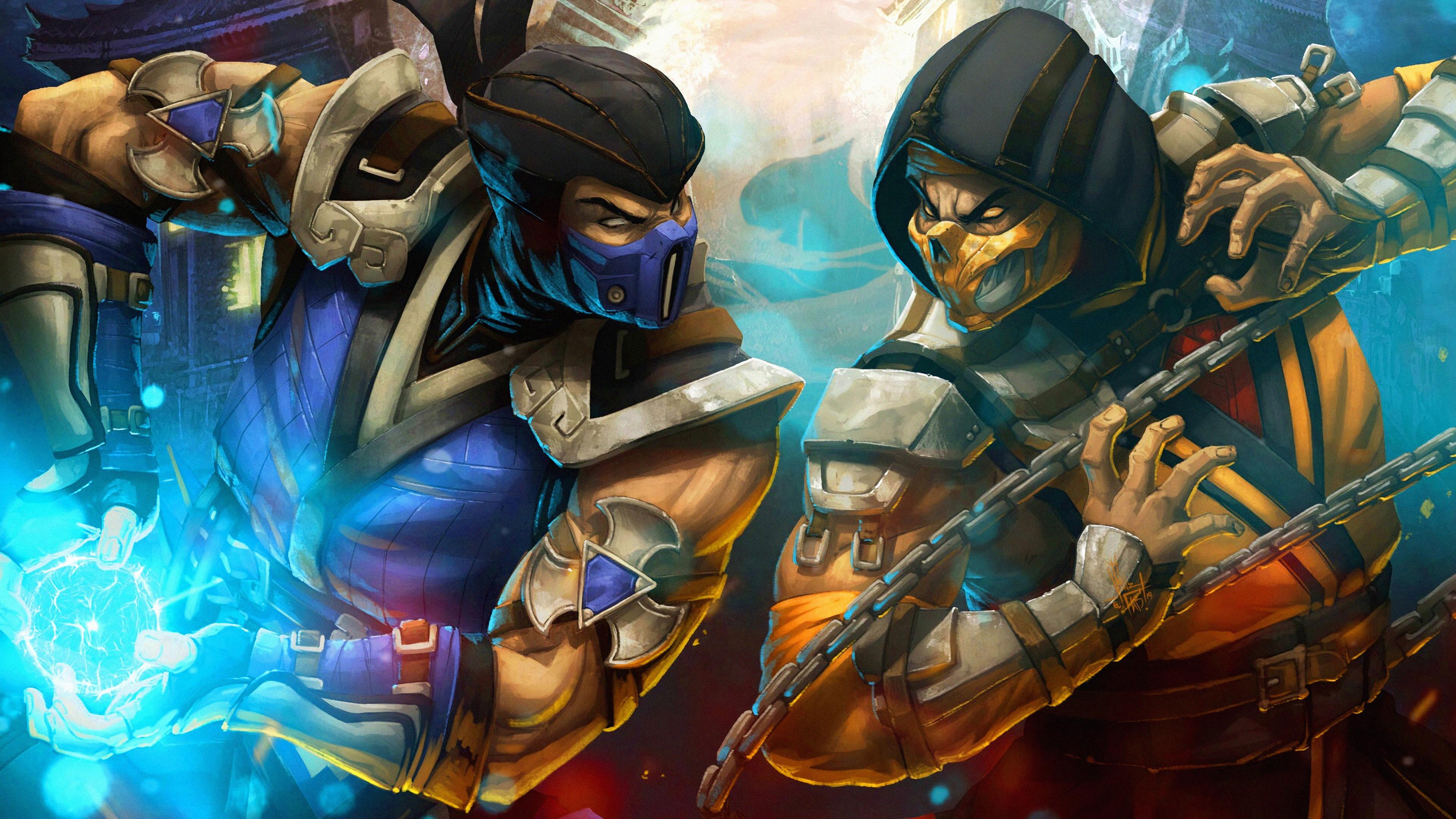Mortal Kombat 11 4k Ultra Hd Wallpaper Background Image