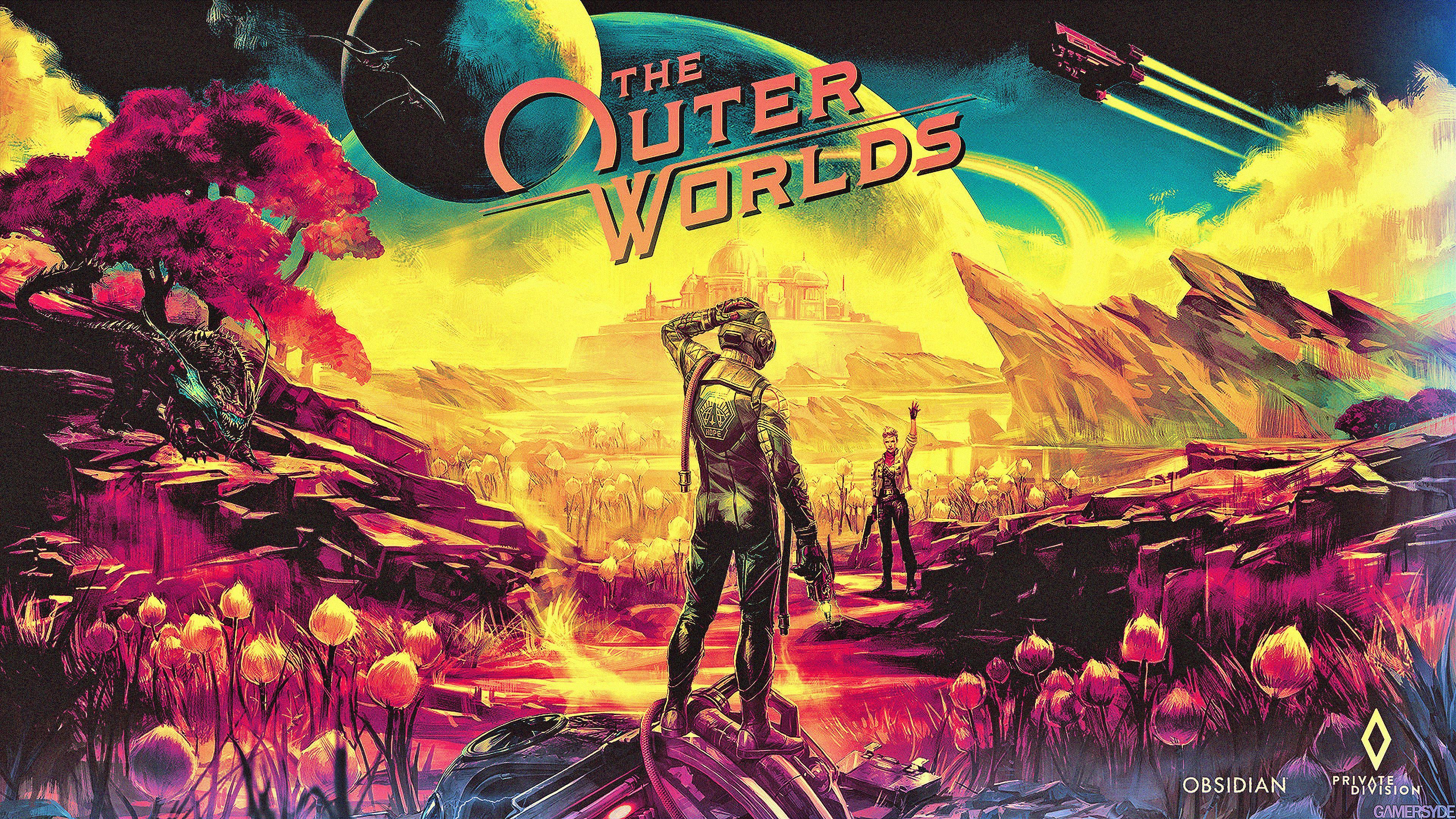 天外世界游戏图片 高清壁纸 游戏壁纸-第1张