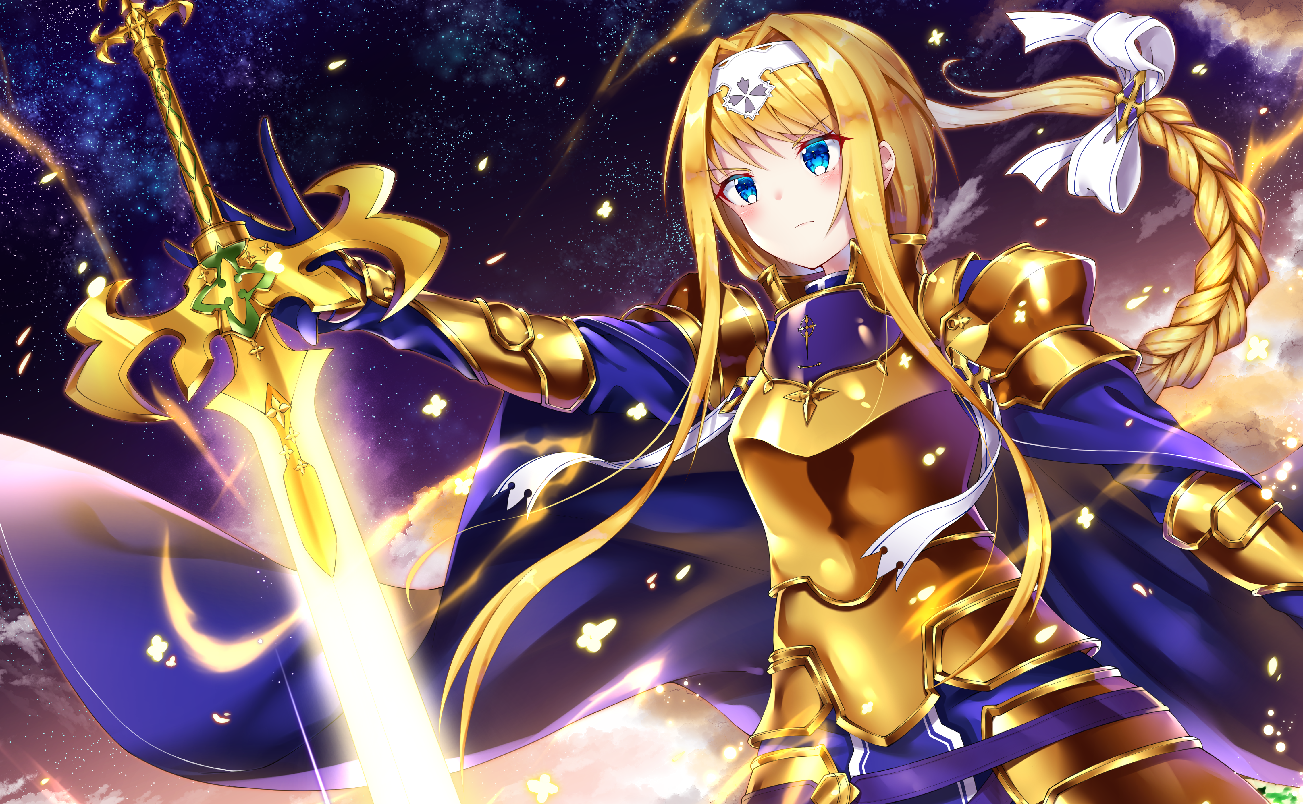 Sword Art Online Alicization 4k Ultra Hd Wallpaper Background