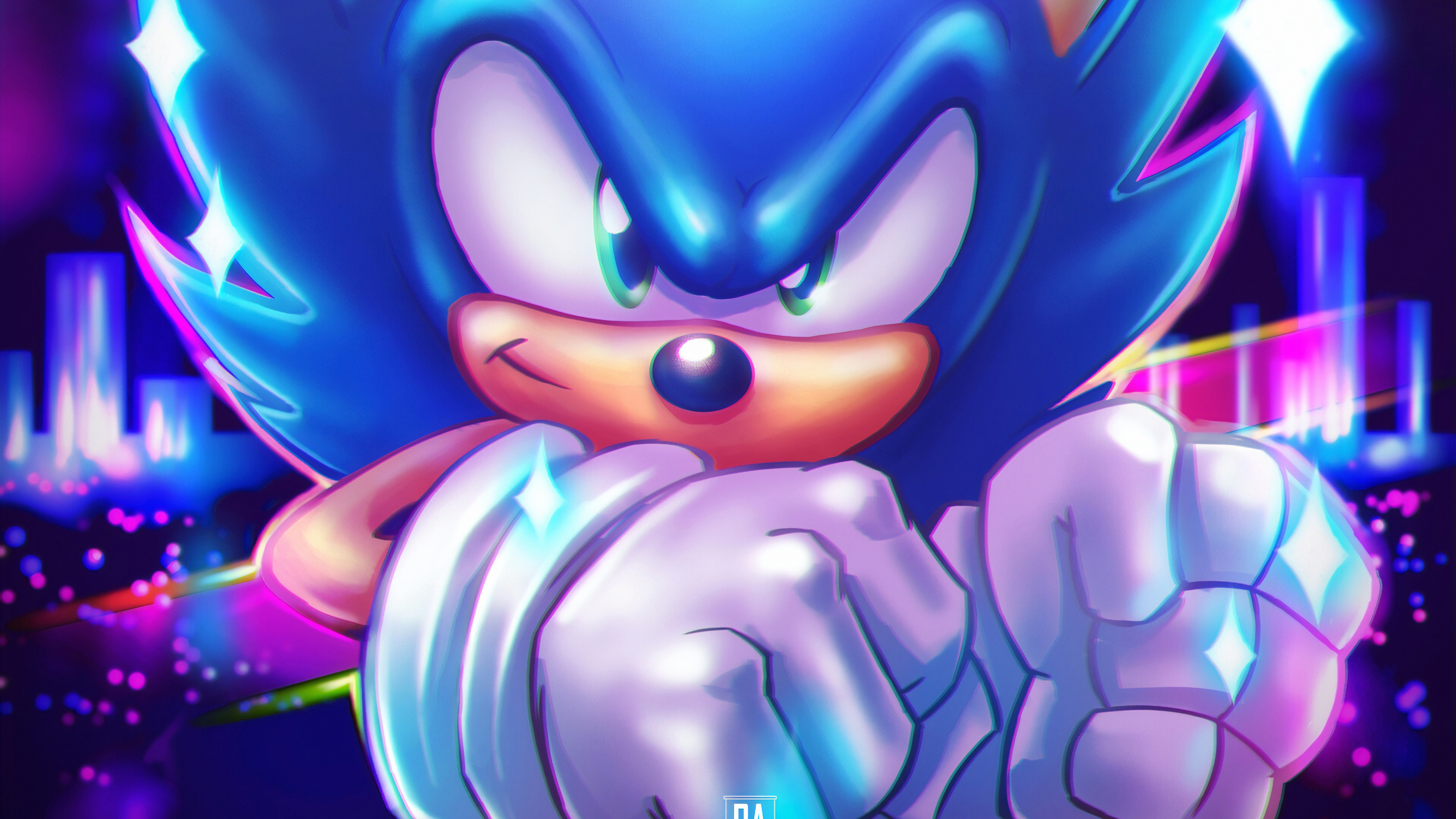 Sonic The Hedgehog 4k Ultra Hd Wallpaper Background Image