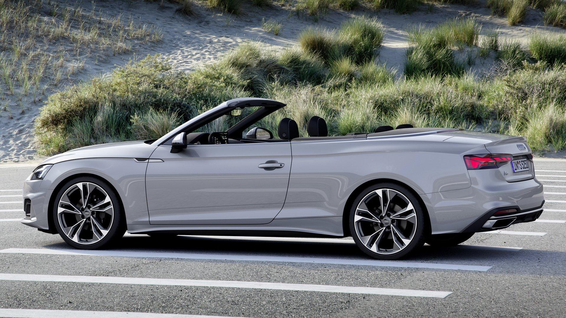 2020 Audi A5 Cabriolet Papel De Parede Hd Plano De Fundo 1920x1080 Id 1040829 Wallpaper Abyss