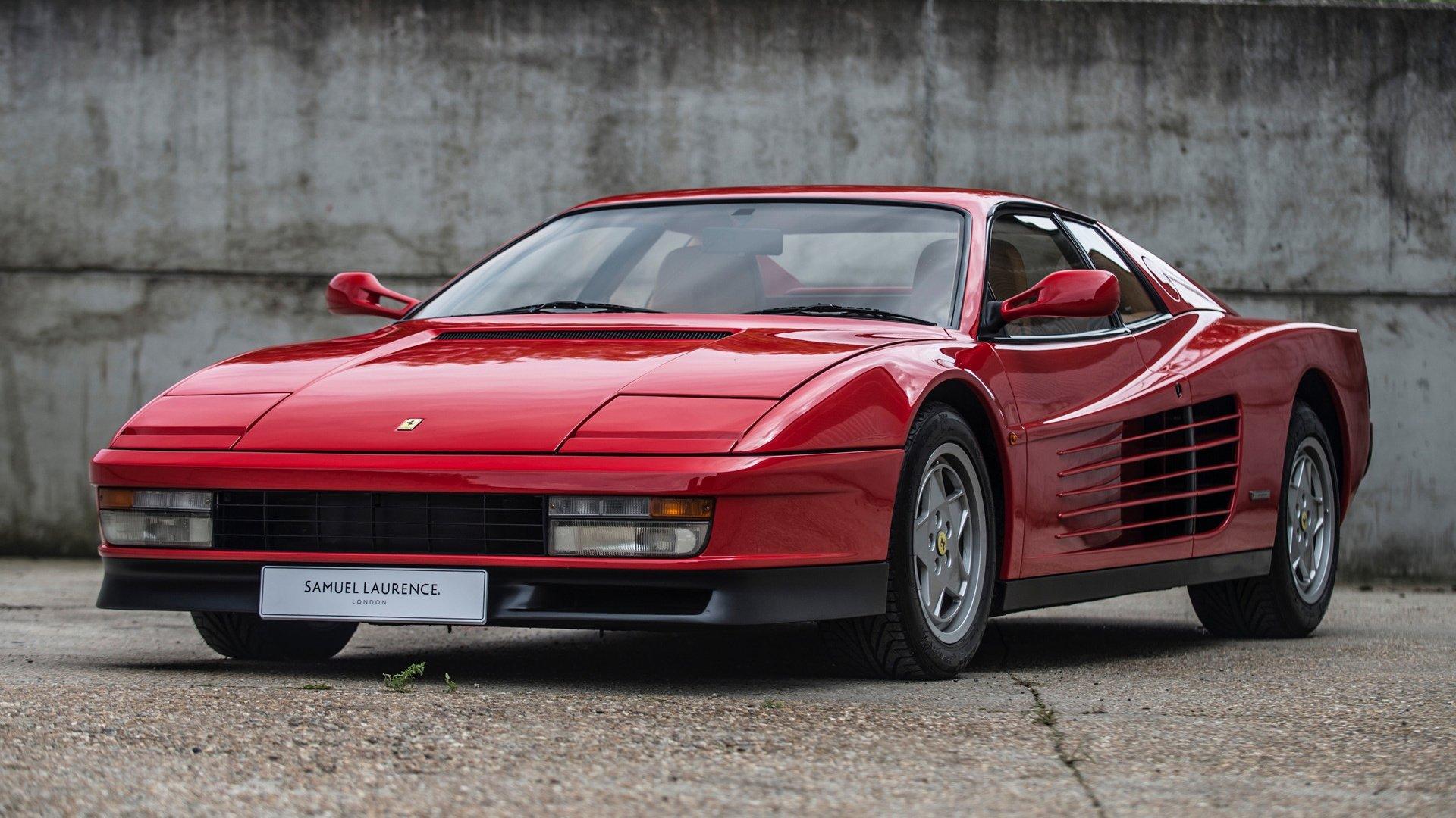 1987 Ferrari Testarossa Hd Wallpaper Hintergrund 1920x1080 Id 1042098 Wallpaper Abyss