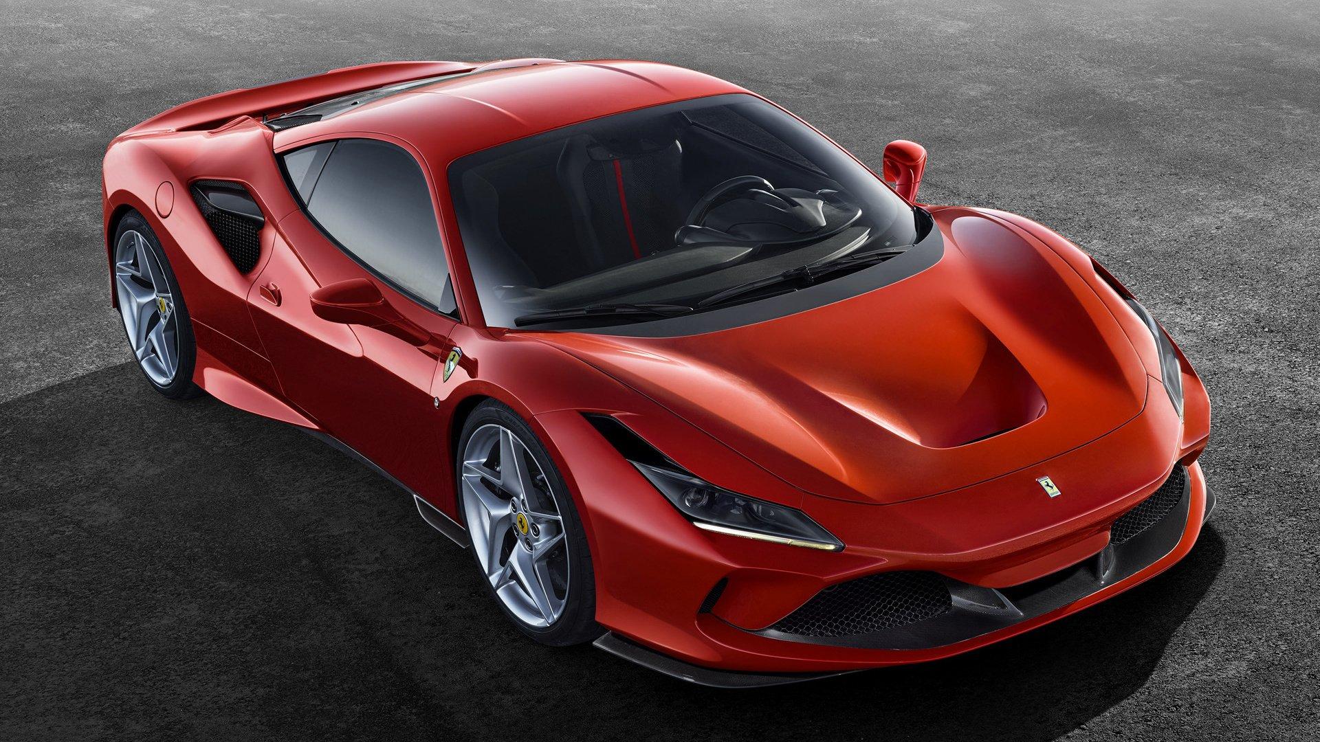 2019 Ferrari F8 Tributo Fondo De Pantalla Hd Fondo De