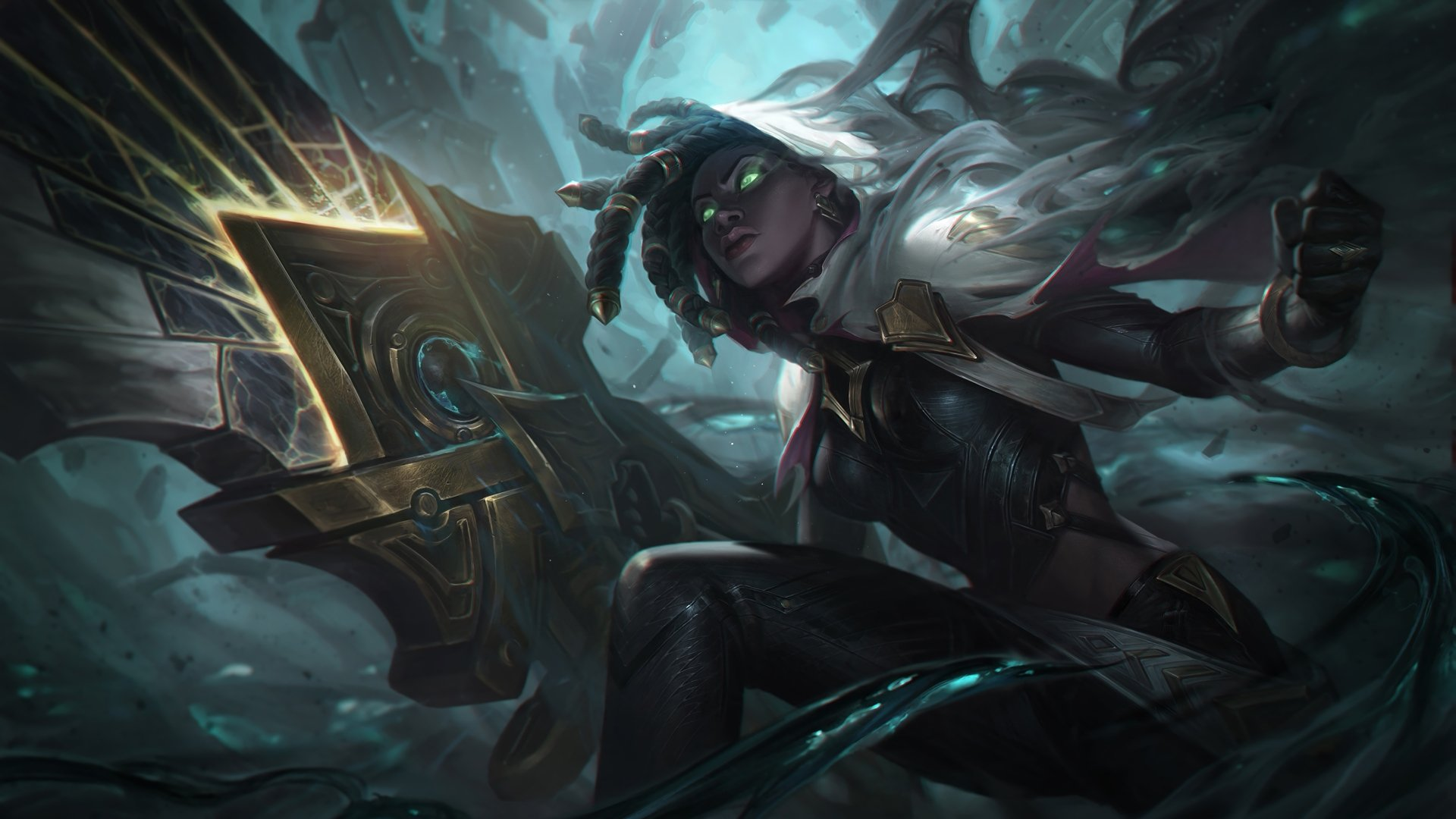 11 Senna League Of Legends Hd Wallpapers Background Images Wallpaper Abyss