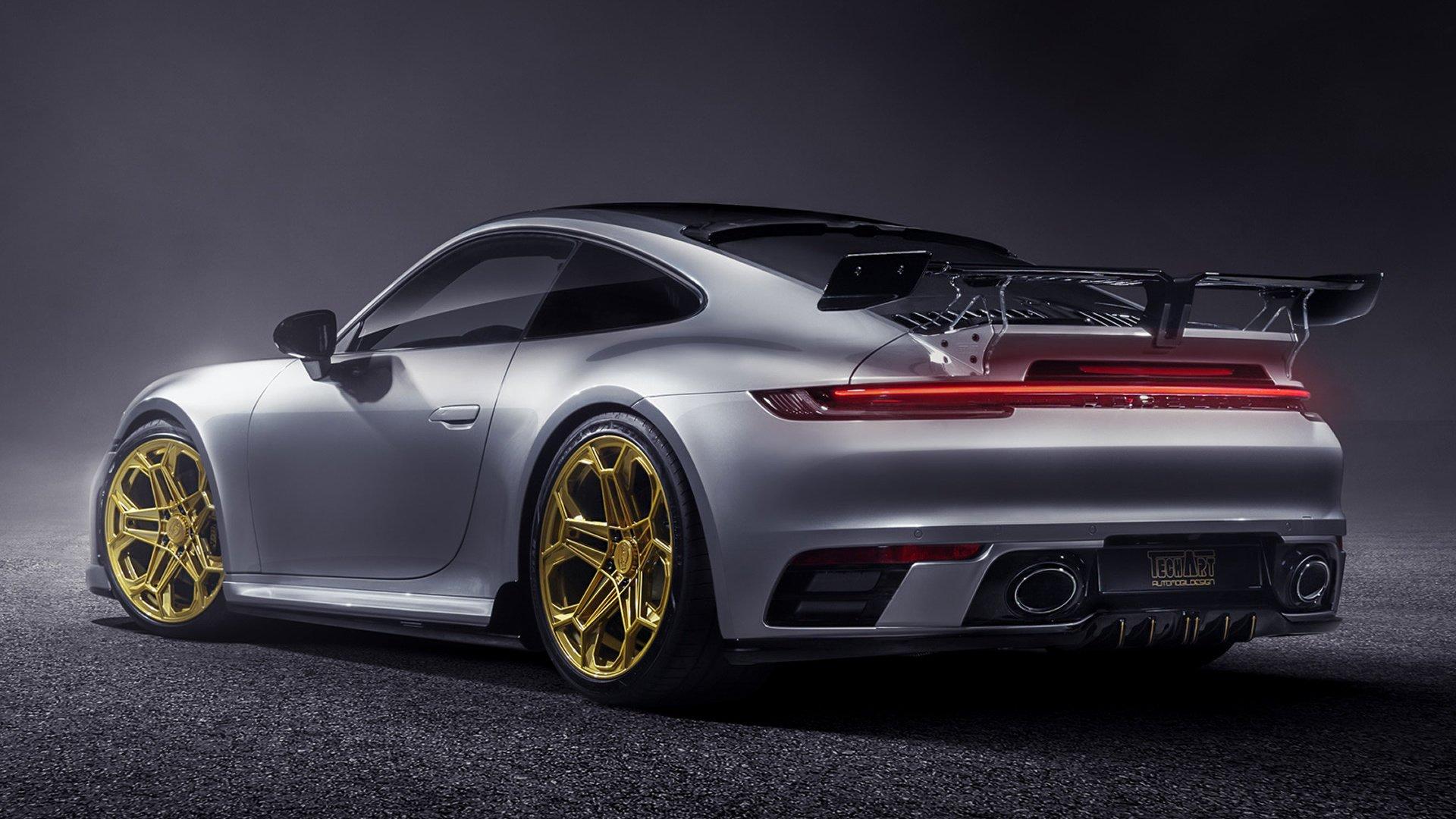 2019 Porsche 911 992 Carrera S By Techart Fond D Ecran Hd Arriere Plan 1920x1080 Id 1049662 Wallpaper Abyss