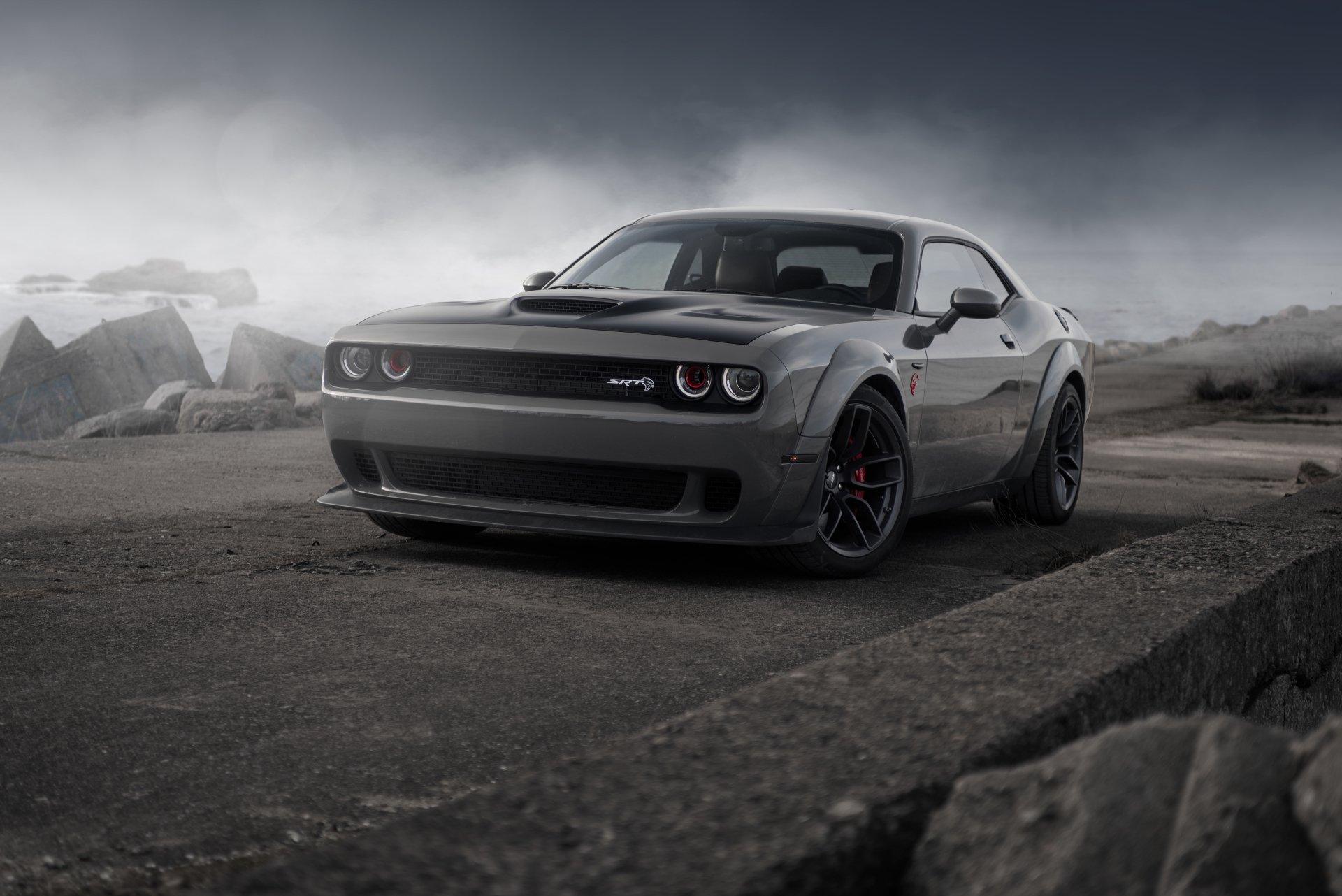 1 4k Ultra Hd Dodge Challenger Srt Demon Wallpapers Background Images Wallpaper Abyss