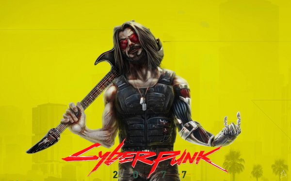 Video Game Cyberpunk 2077 Johnny Silverhand Keanu Reeves HD Wallpaper | Background Image