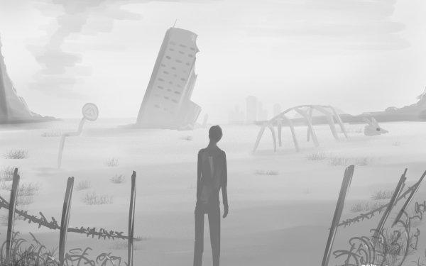 Anime Original Bones Building HD Wallpaper | Background Image