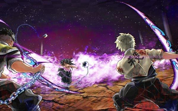 Anime Demon Slayer: Kimetsu no Yaiba Gyomei Himejima Muichiro Tokito Sanemi Shinazugawa HD Wallpaper | Background Image