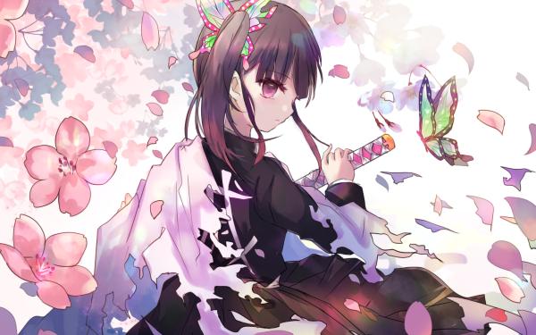 Anime Demon Slayer: Kimetsu no Yaiba Kanao Tsuyuri HD Wallpaper   Background Image